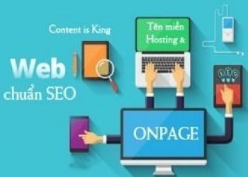 Dịch vụ thiết kế website trọn gói chuẩn SEO